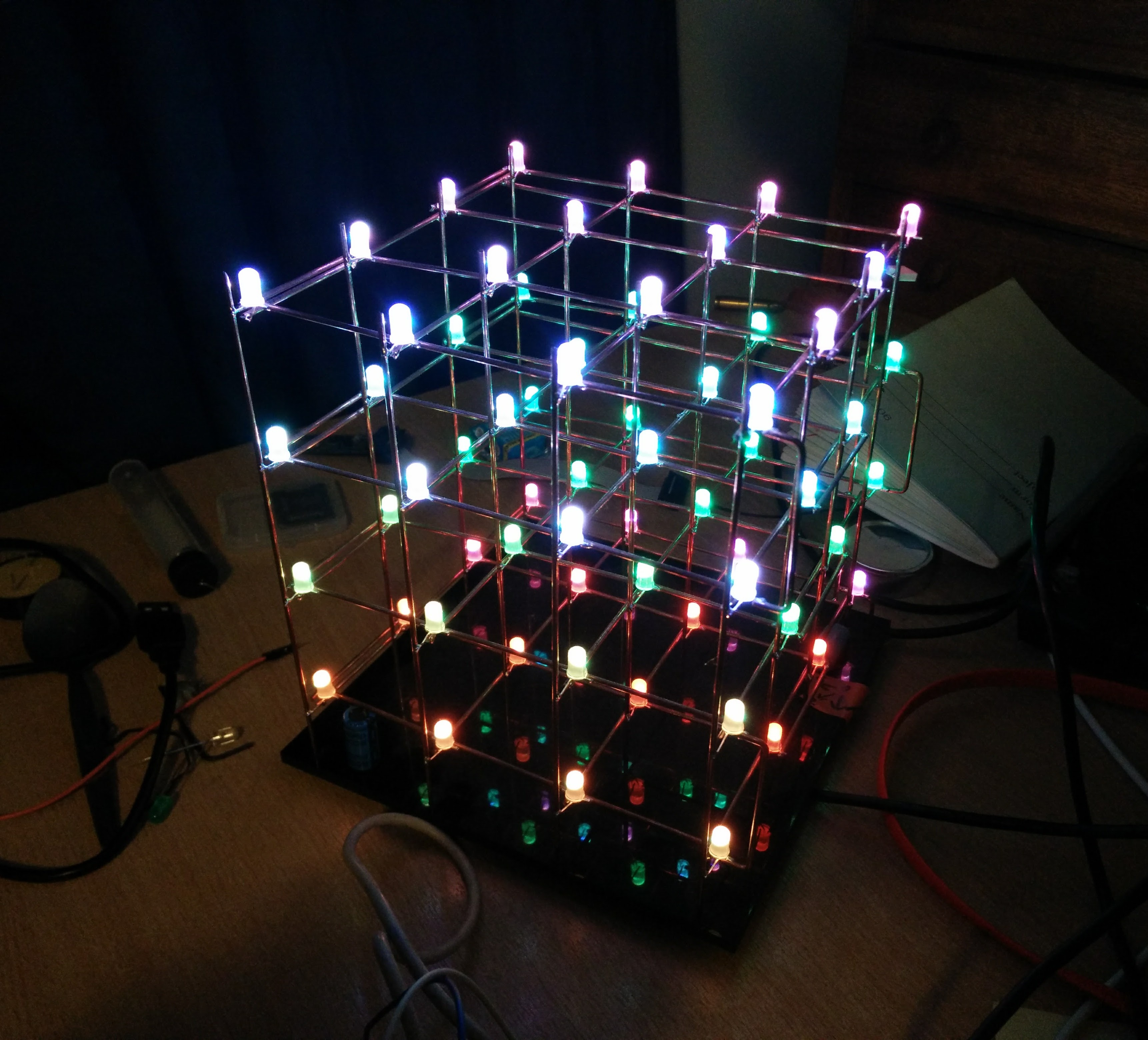 LED cube. Does anybody ever read these?